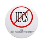 No HFCS Ornament (Round)