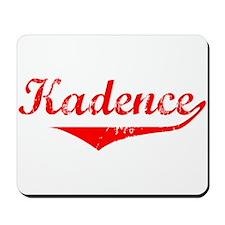 Kadence Vintage (Red) Mousepad