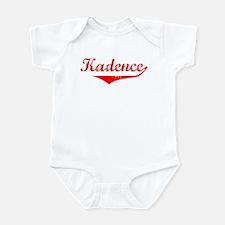Kadence Vintage (Red) Infant Bodysuit