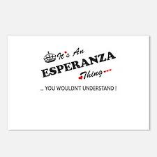 Cute Esperanza Postcards (Package of 8)