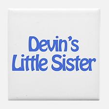 Devin's Little Sister Tile Coaster