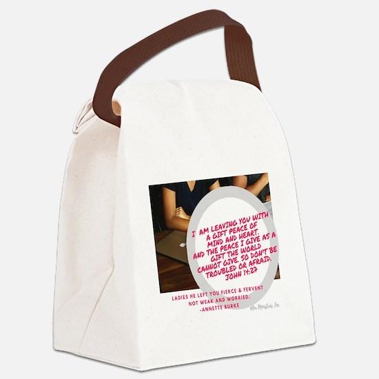 Cool Encouragement Canvas Lunch Bag