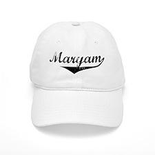 Maryam Vintage (Black) Baseball Cap