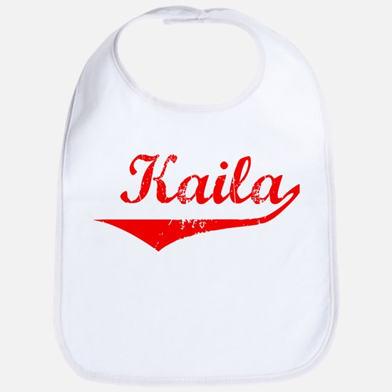 Kaila Vintage (Red) Bib
