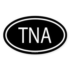 TNA Oval Decal