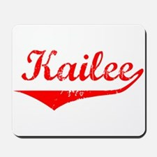 Kailee Vintage (Red) Mousepad