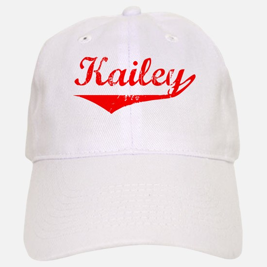 Kailey Vintage (Red) Baseball Baseball Cap