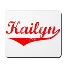 Kailyn Vintage (Red) Mousepad