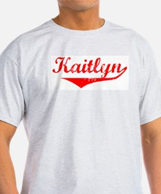 Kaitlyn Vintage (Red) T-Shirt