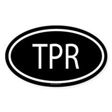 TPR Oval Decal