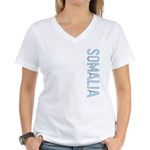 Somalia Stamp Women's V-Neck T-Shirt