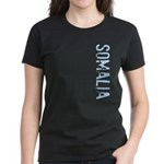 Somalia Stamp Women's Dark T-Shirt