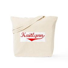 Kaitlynn Vintage (Red) Tote Bag