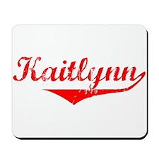Kaitlynn Vintage (Red) Mousepad
