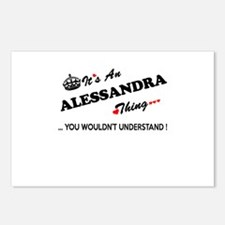 Unique Alessandra Postcards (Package of 8)