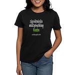 Paris Hilton Gonorrhea Women's Dark T-Shirt