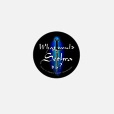 What Would Sethra Do? Mini Button