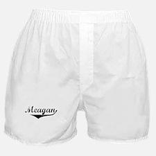 Meagan Vintage (Black) Boxer Shorts