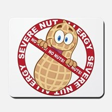 Severe Nut Allergy Mousepad