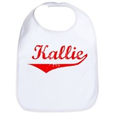Kallie Vintage (Red) Bib