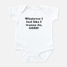 Whatever I feel like I wanna Infant Creeper