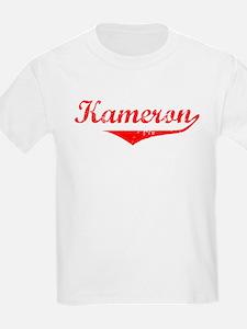 Kameron Vintage (Red) T-Shirt