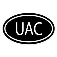 3-UAC Oval Decal