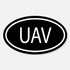 UAV Oval Decal