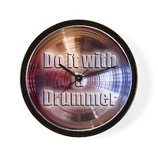 cymbals Wall Clock
