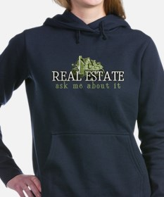 Funny Keller williams real estate logo realty kw Women's Hooded Sweatshirt
