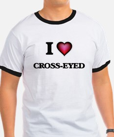I love Cross-Eyed T-Shirt