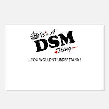Cute Dsm Postcards (Package of 8)