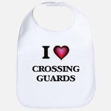 I love Crossing Guards Bib