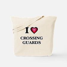 I love Crossing Guards Tote Bag