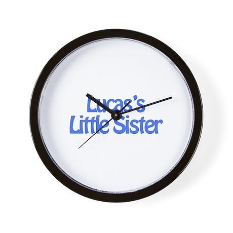 Lucas's Little Sister Wall Clock