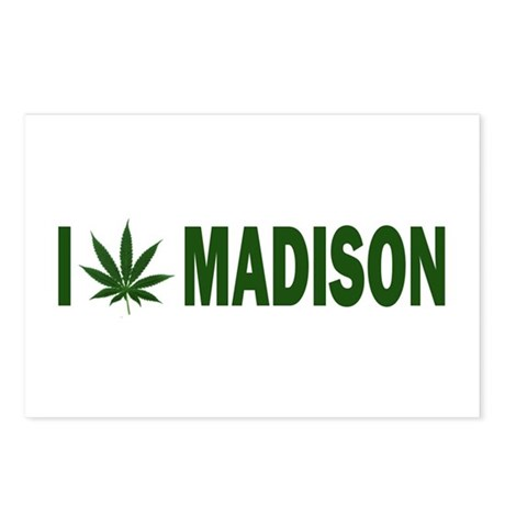 I Pot Madison Postcards (Package of 8)