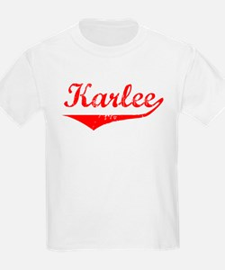 Karlee Vintage (Red) T-Shirt