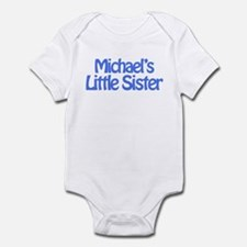 Michael's Little Sister Infant Bodysuit