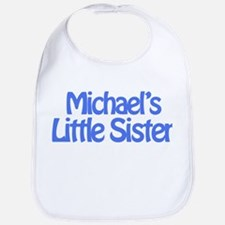 Michael's Little Sister Bib