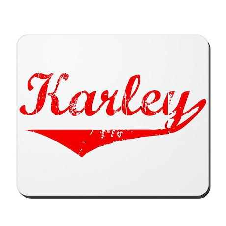 Karley Vintage (Red) Mousepad