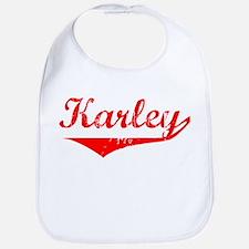 Karley Vintage (Red) Bib