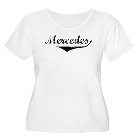 Mercedes Vintage (Black) Women's Plus Size Scoop N