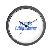 Nate's Little Sister Wall Clock