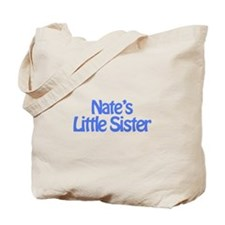 Nate's Little Sister Tote Bag