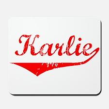 Karlie Vintage (Red) Mousepad
