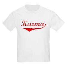 Karma Vintage (Red) T-Shirt