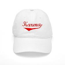 Karma Vintage (Red) Baseball Cap