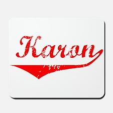 Karon Vintage (Red) Mousepad