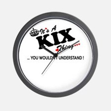 Cool Kix kix Wall Clock