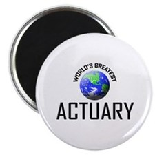 """World's Greatest ACTUARY 2.25"""" Magnet (10 pack)"""